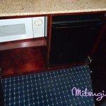 Room-microwave & frige