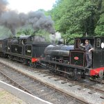 Smoke and steam at Consall