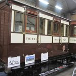 Restored vintage North Staffordshire Railway coach