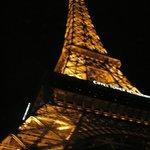 Looking up, Eiffel Tower, Las Vegas