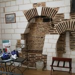 quirky old fireplace