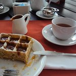 Metade do waffle