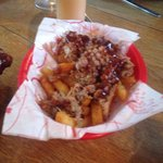 Pulled pork fries (delicious)