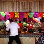 Cocineras muy mexicanas.