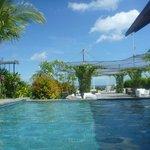 Rooftop pool/bar