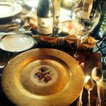 Dinner place setting - gorgeous!