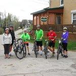 Notre premier groupe de cyclistes 2014