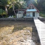 Seachange Lodge at Low Tide