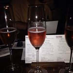 pink champagnes