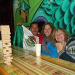 Playing Jenga and Drinking Rum at Killa Wasi