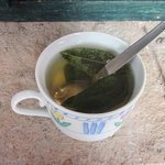 Coca tea to help with acclimation to the altitude