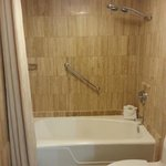 Shower--spacious and clean!