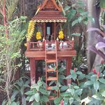 a small shrine in every corner of the resort