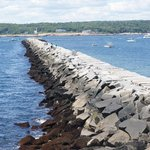 Breakwater - Gloucester Harbor