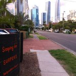 Looking at Surfer's Paradise