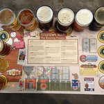 nice beer flights, sample all of em
