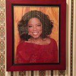 Oprah From The Wall of The Famous Who Have Stayed Here