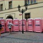 Prague- Jenny on the spot