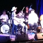 With Vince Gill
