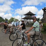 Bike ride through the hills