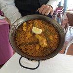 Paella at La Pepica
