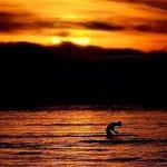 Catching sunset at Tia's beach resort