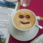 En elke morgen een smiley in de cappuccino ;-)