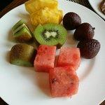Nice fruits for breakfast at La Venduta