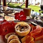 Breakfast is served..