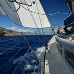 This is REAL sailing!