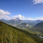 Banff Gondola - View from the top