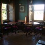cosy bar/lounge area