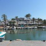the marina Cala d or.