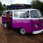 Vervoer naar de surfspots