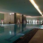 Indoor pool. Warm.