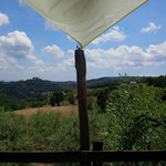 Panorama dalla piscina - View from the Swimmin Pool