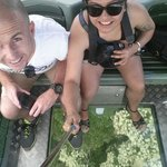 Gondola ride with the glass floor. Just mention it to your tourguide that you want to upgrade to