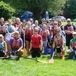 Brown Dog Charity Canoe Team 2014