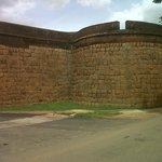VIEW OF THE ENTRANCE TO THE FORT BUILT IN 1501 AT DEVANAHALLI, ALSO THE BIRTH PLACE OF TIPU SULT