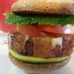 Hamburger de fruits frais