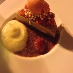 Dessert Erdbeervariation