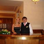 Receptionist Roman