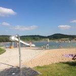 """Das Naturbad """"Tessiner Südsee"""""""