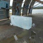 Ice block to be used for the 2015 hotel