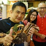 Yummy live Spider crab 2kg to share by 4 pax