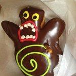 Voodoo Doll Doughnut