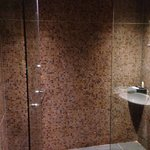 Bery big bathrooms, love the water pressure on the shower