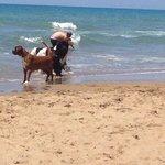 Betty Blu in spiaggia