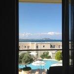 vue de chambre premier étage villa 2407