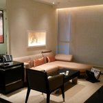 Lounge area of room